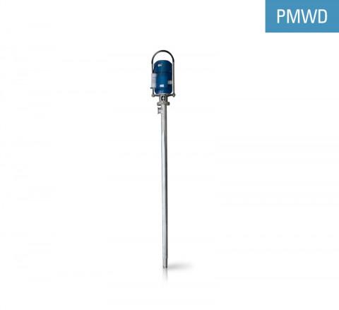 Pompa verticala pentru fluide dense NEWECO PMWD este utilizată pentru pomparea de fluide dense și subțiri vâscozități: creme, geluri, vopsele.